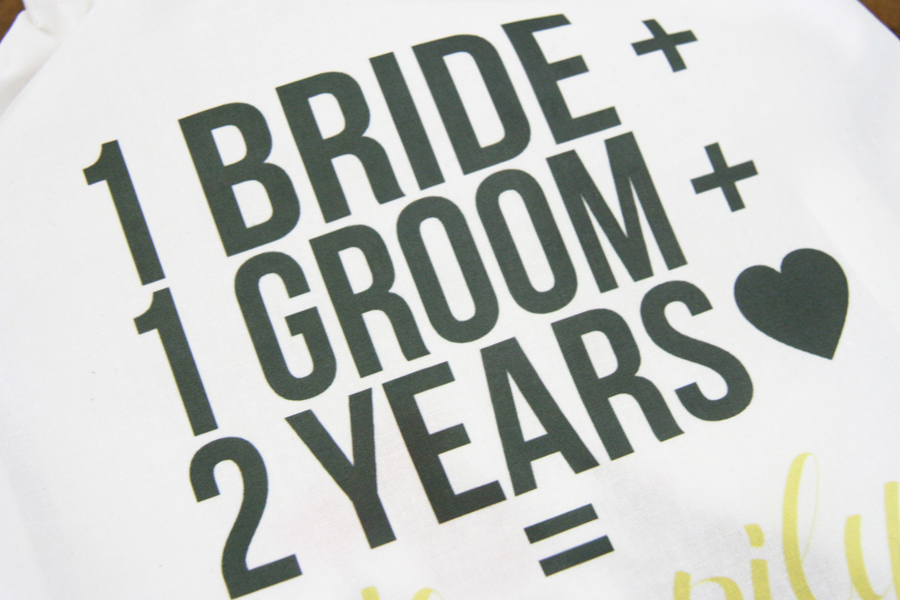 ... your second wedding anniversary is actually meant to be a cotton gift
