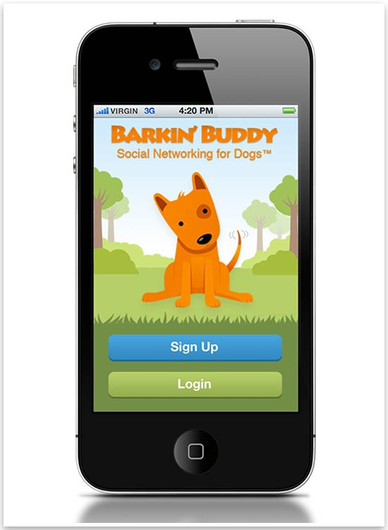 Pretty fluffy the barkin buddy app is not yet another faux social media account for your dog yes you upload your dogs details and create a profile but after that it solutioingenieria Choice Image