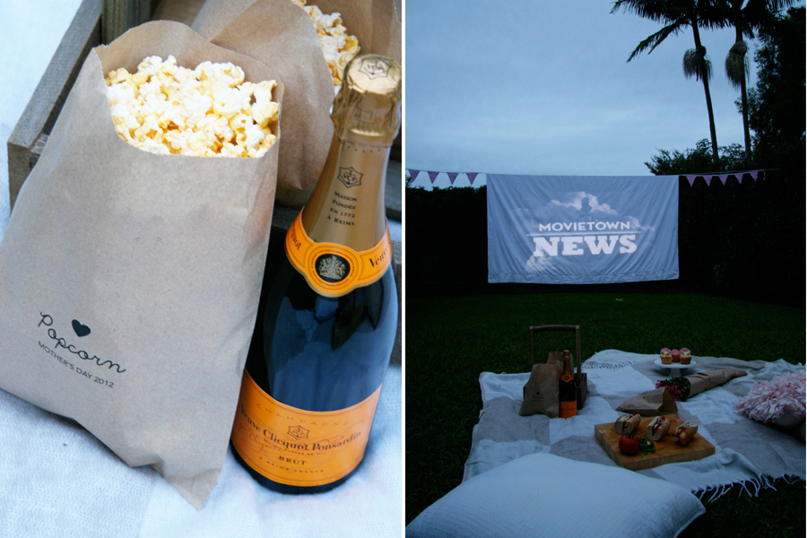 DIY Outdoor Cinema | Pretty Fluffy
