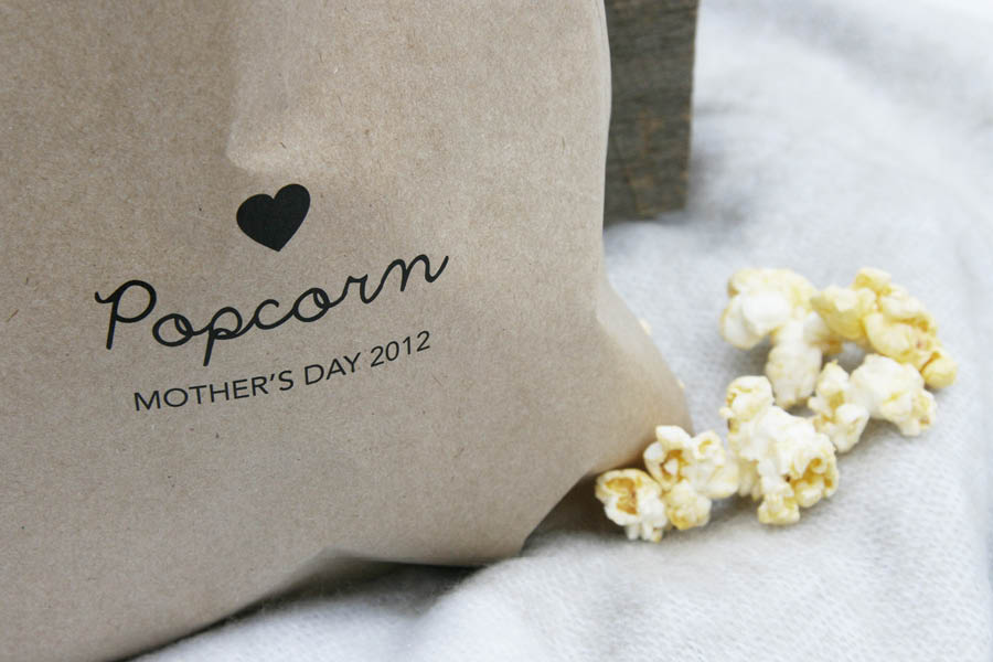 Outdoor Cinema Popcorn Printable | Pretty Fluffy