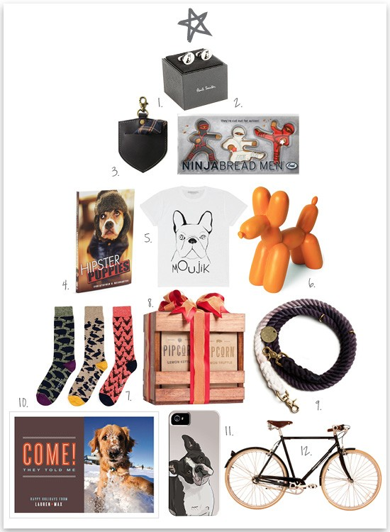 Dog lovers xmas gifts for him