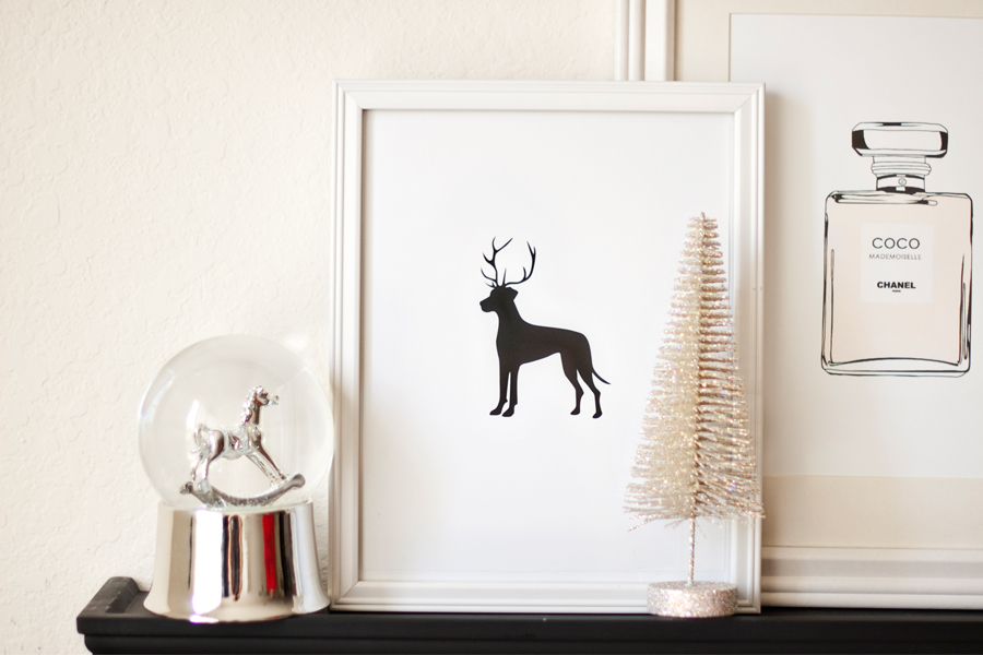 Diy Dog Wall Decor : Budget pet friendly diy ornaments free printable