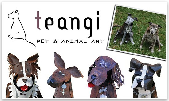 Sculpture by Teangi | Pretty Fluffy Sponsor