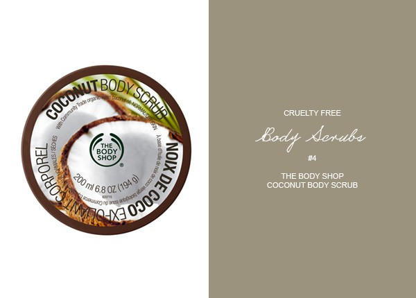 The Body Shop Coconut Body Scrub | Cruelty Free Body Scrubs | Pretty Fluffy