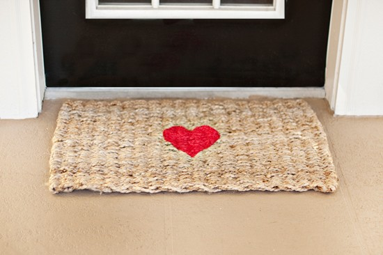 Valentine DIY Dog Rug | Pretty Fluffy