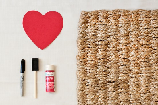 Valentine Welcome Rug | Pretty Fluffy