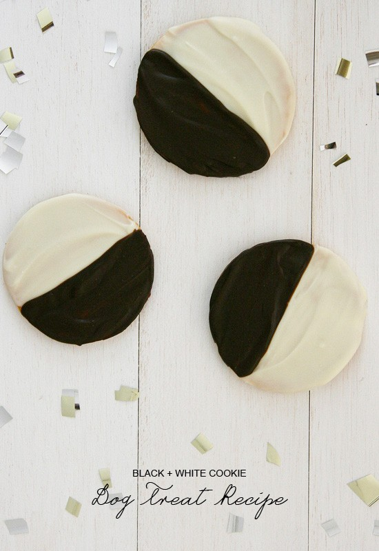 Black and White Cookie Recipe - for Dogs! | Pretty Fluffy