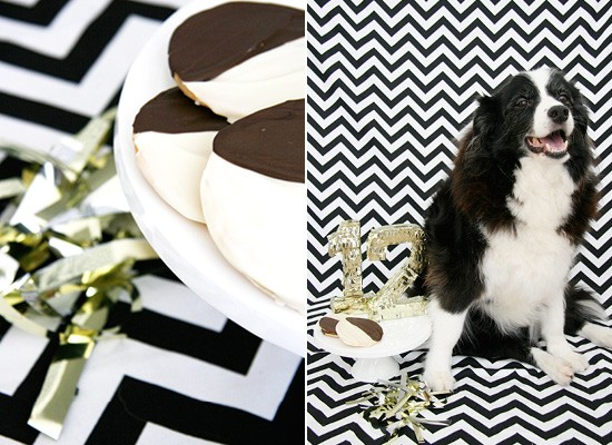 Dog Birthday Treat Recipe - Black and White Cookie | Pretty Fluffy