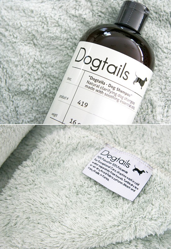 Dog Tails Clarifying Shampoo + Microfiber Towel Review | Pretty Fluffy