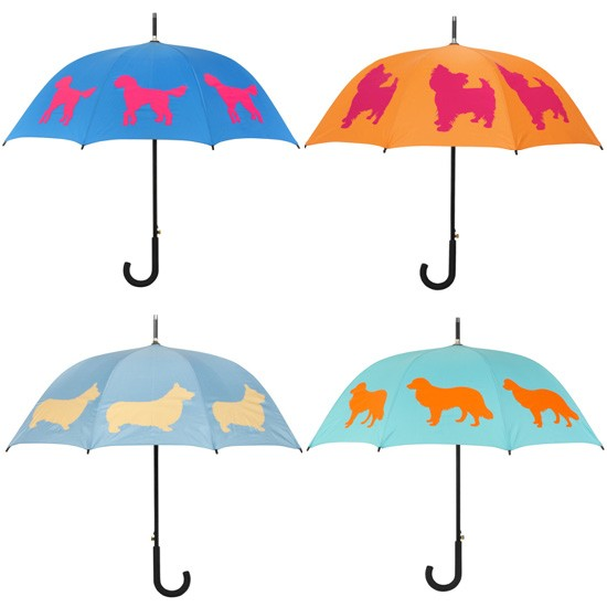 Dog Umbrellas by Kelly & Sam | Pretty Fluffy