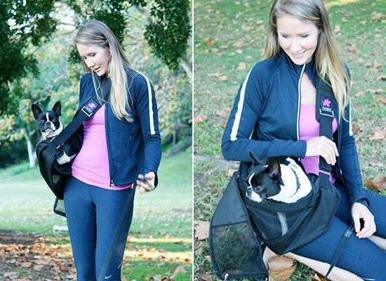 Pet Sling for Dogs | Pretty Fluffy