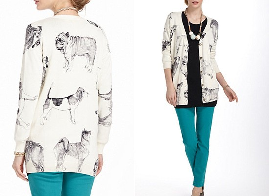 Anthropologie Pooch Posse Cardigan | Pretty Fluffy