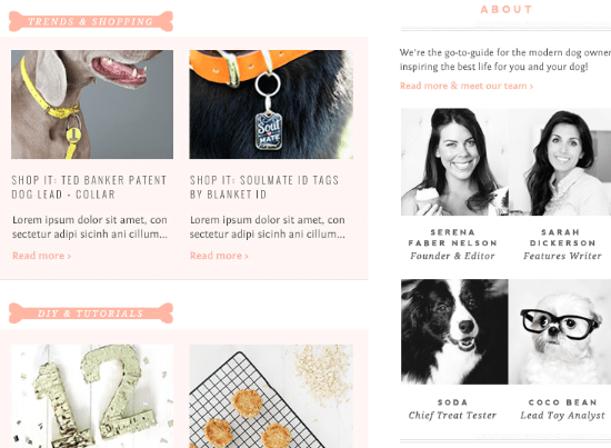 Pretty Fluffy New Website Design - Sneak Peek | Pretty Fluffy