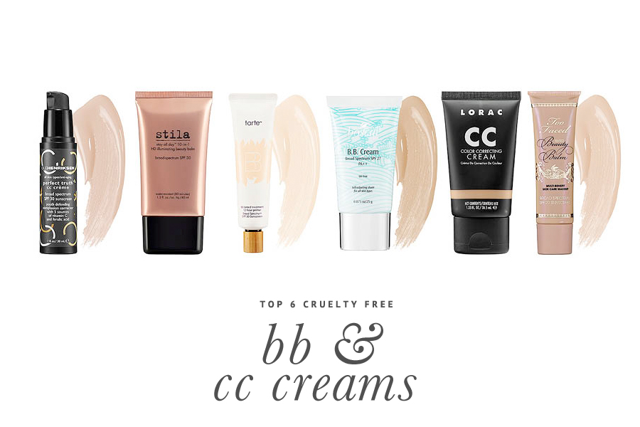 6 Cruelty Free BB & CC Creams You Should Try Today - 6 of the BEST BB & CC creams that work and aren't tested on animals. Full reviews and where to buy.