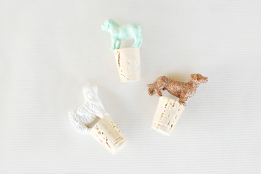 DIY Canine Wine Toppers Tutorial