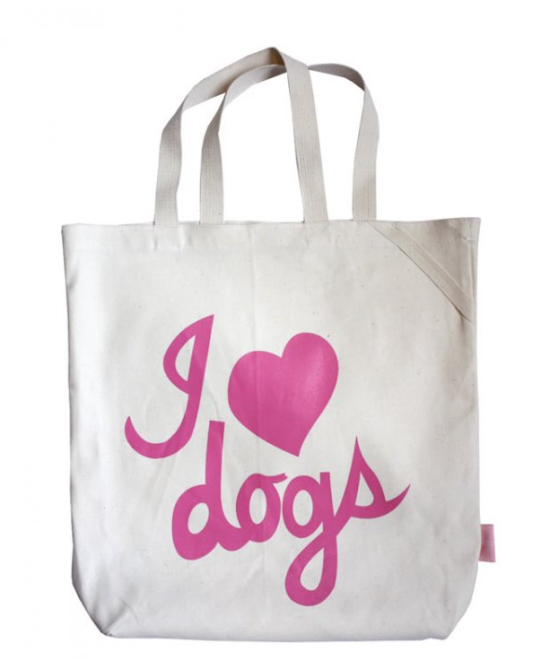 I Love Dogs Tote by Romy & Jacob | Pretty Fluffy