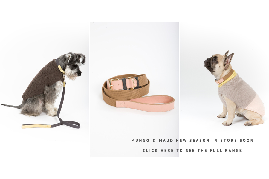 Mungo & Maud Dog Leads and Collars | Pretty Fluffy