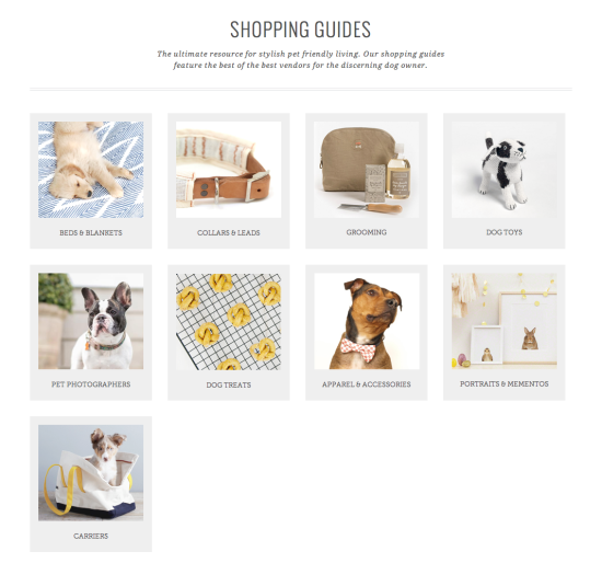 Pretty Fluffy Shopping Guides