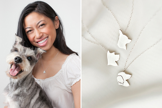WIN a silhouPETte Charm Necklace > Enter the Pretty Fluffy Christmas Giveaway - over $2000 in prizes to be won.