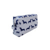Dachshund Print Cosmetic Bag by Kelly & Sam