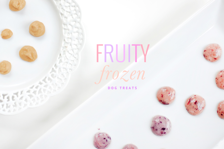 These easy to make fruity frozen dog treats are the healthy way to cool your pup down this summer. No chemicals, no artificial flavors! Grab the recipe now.