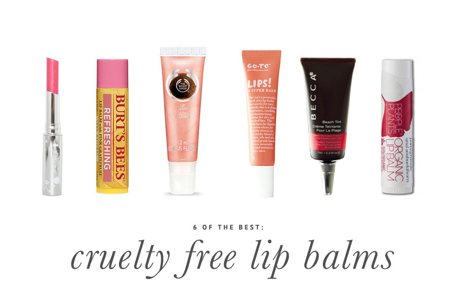 6 Cruelty Free Lip Balms You Should Try Today | www.prettyfluffy.com