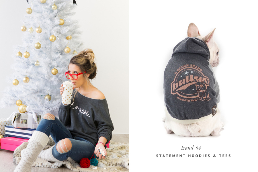The Hottest Pet Trends for 2015 - Statement Hoodies