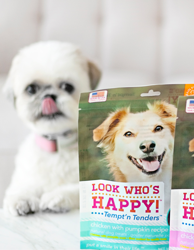 Look Who's Happy Dog Treats - Love these treats! They're grain free, cage free, humane and ethical and safe dog treats made in the USA.