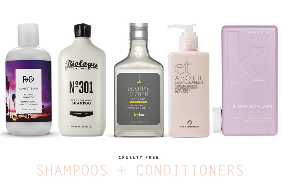 Cruelty Free Shampoo and Conditioners You Should Try Today - 7 of the BEST hair care products that work (for all hair types) and aren't tested on animals.