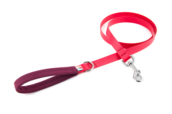The leash that gives back! These colorful, tangle free leashes are made in CA, USA. For each Funston Dog Leash purchase, another is given to a homeless dog.