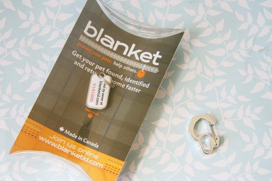 Blanket ID Dog Tag   Pretty Fluffy