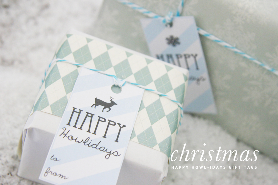Dog Christmas Gift Labels | Pretty Fluffy