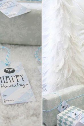Pet Christmas Gift Labels | Pretty Fluffy