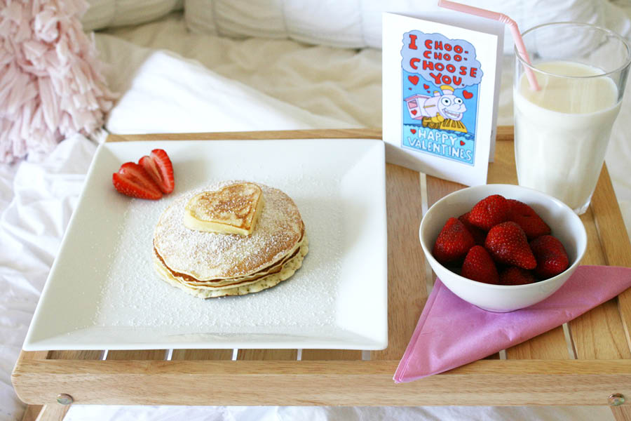 Valentine's Day Pancake Brunch | Pretty Fluffy