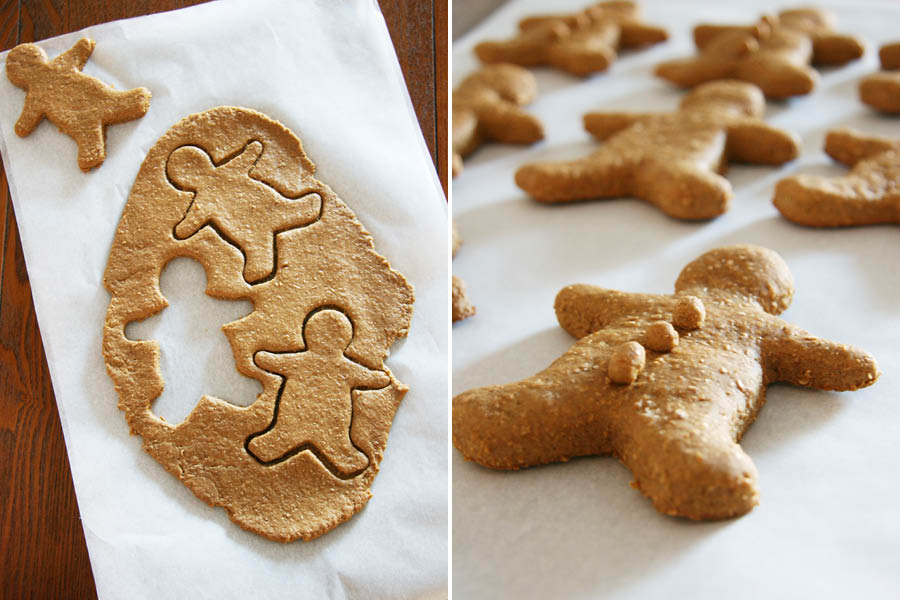 The Best Gingerbread Dog Treat Recipe | Pretty Fluffy | The best Gingerbread Dog Treat Recipe of all time. Super easy to make, healthy, dog-safe ingredients and 100% tasty! Grab the FREE recipe here.
