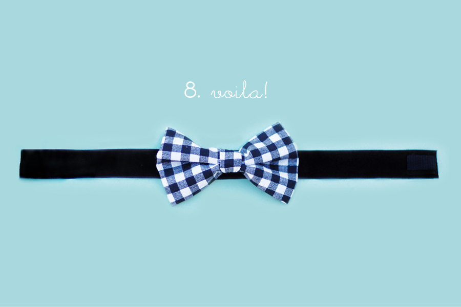 How to make baby bow ties no sew