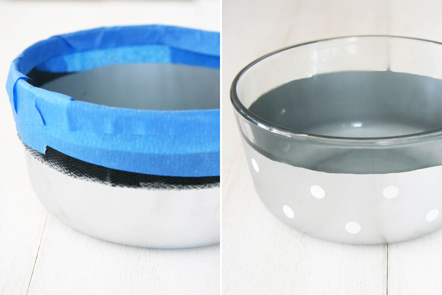 Color Dipped Dog Bowl Tutorial | Pretty Fluffy