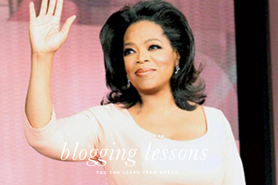 What Bloggers Can Learn From Oprah | Pretty Fluffy