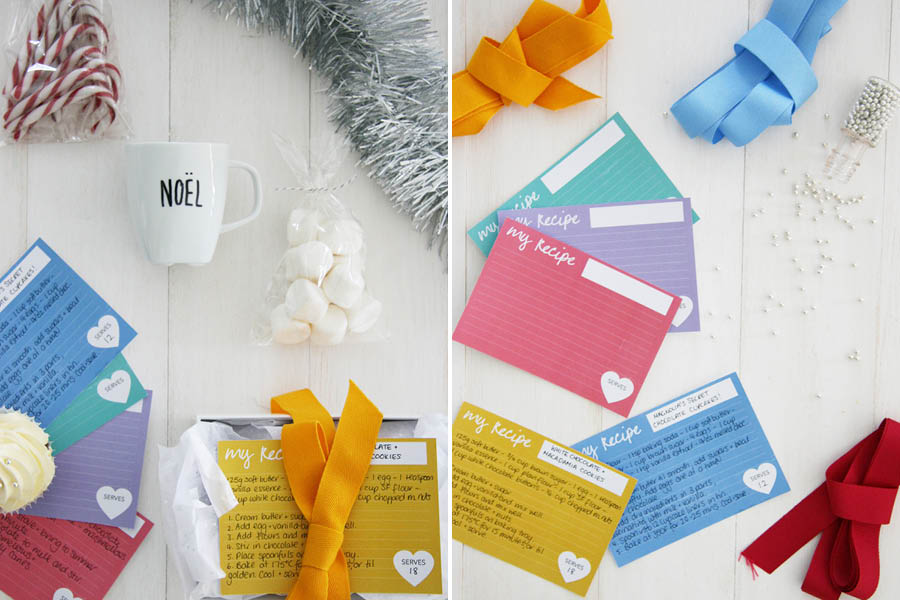 Last Minute Supermarket Gift Box Ideas + Printable | Pretty Fluffy