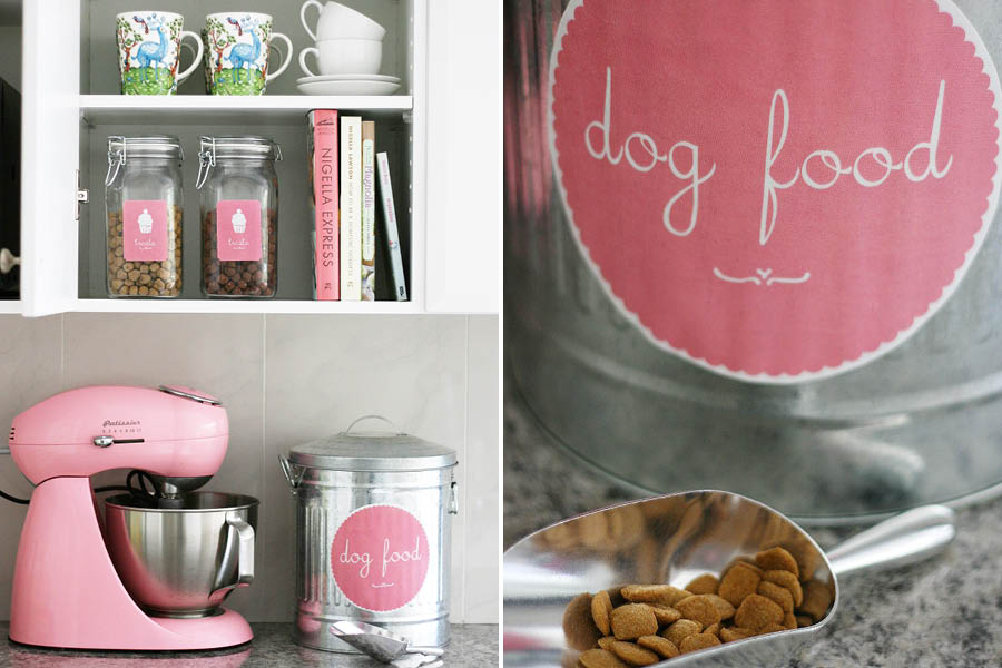Stylish Pet Food Storage | Pretty Fluffy