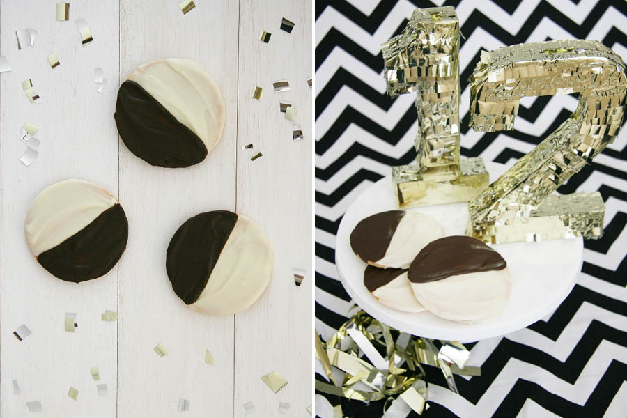 Black & White Cookie Dog Treat | Pretty Fluffy