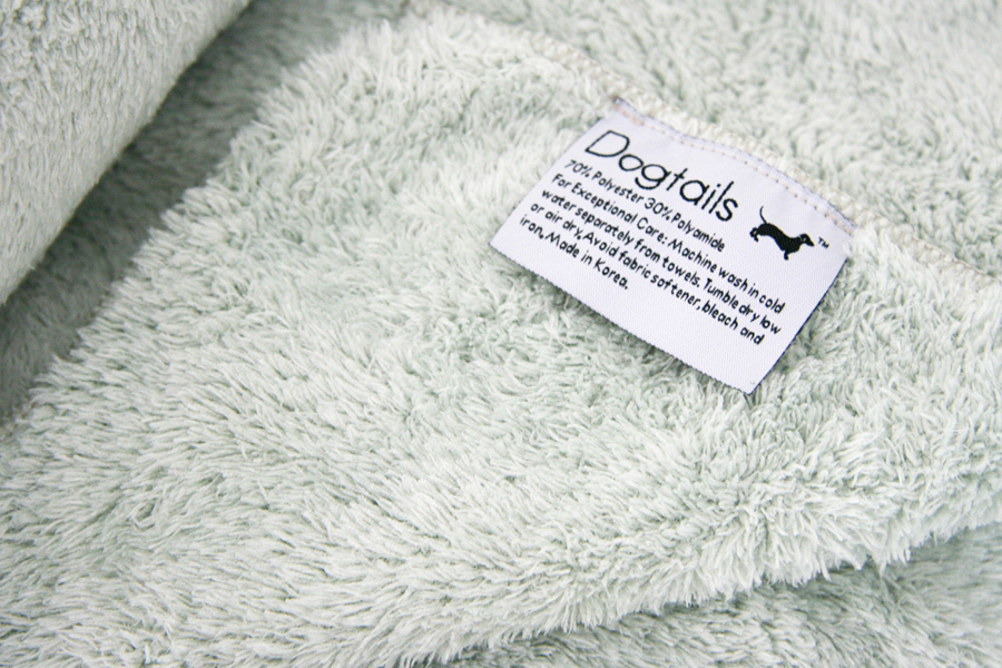 Dogtails Microfiber Towel Review | Pretty Fluffy