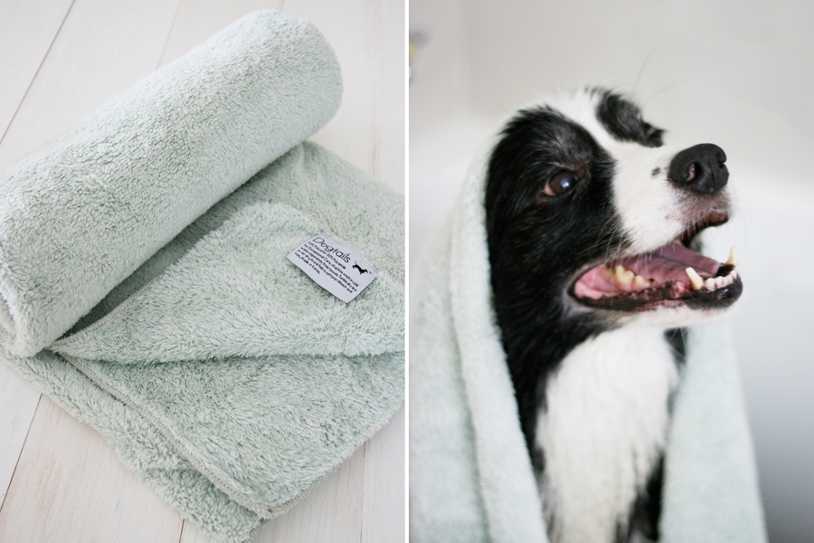 Dogtails Micro Fiber Towel | Pretty Fluffy