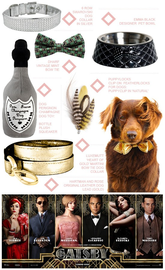 Great Gatsby Inspired Pet Accessories | Pretty Fluffy