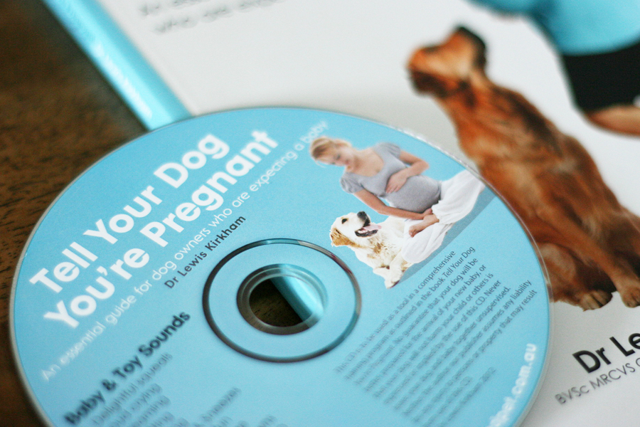 Tell Your Dog You're Pregnant Book and CD Review | Pretty Fluffy