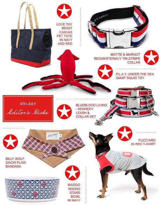 4th July Dog Accessories | Pretty Fluffy