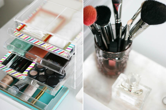 Organized Make Up Station | Pretty Fluffy