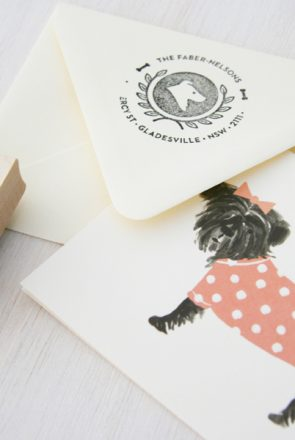 Lush Prints Personalised Pet Stamps   Pretty Fluffy