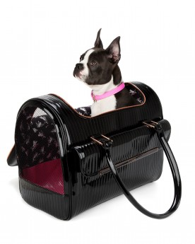 Quilted Enamel Dog Bag by Ted Baker | Pretty Fluffy