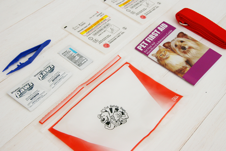 Pet Safety Bag - First Aid Kit